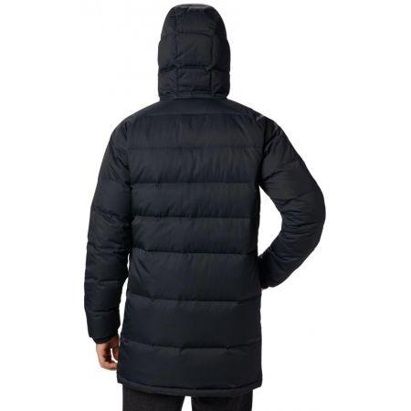Men's winter jacket - Columbia MACLEAY DOWN LONG JACKET - 3