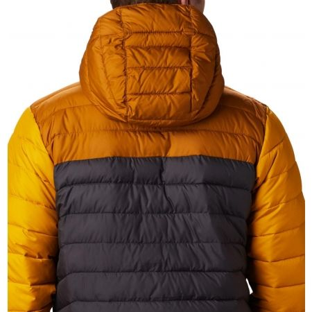 Pánska bunda - Columbia POWDER LITE HOODED JACKET - 8