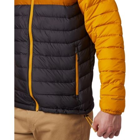 Pánska bunda - Columbia POWDER LITE HOODED JACKET - 7