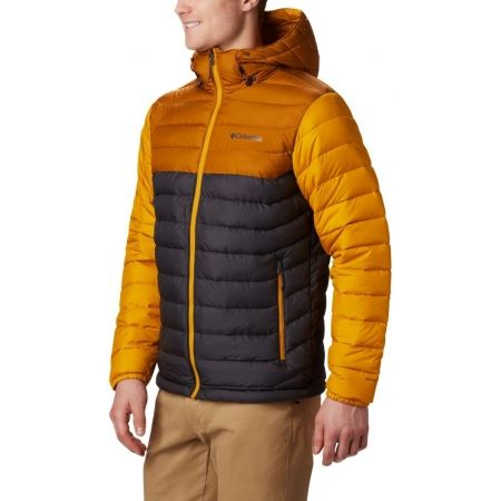 Pánska bunda - Columbia POWDER LITE HOODED JACKET - 4