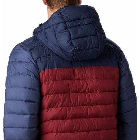 Pánská bunda - Columbia POWDER LITE HOODED JACKET - 8