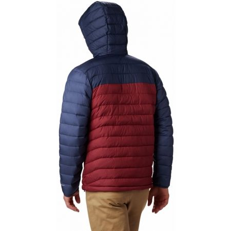 Pánska bunda - Columbia POWDER LITE HOODED JACKET - 5