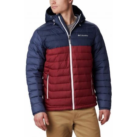 Pánská bunda - Columbia POWDER LITE HOODED JACKET - 4