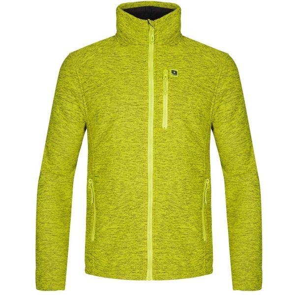Loap GINTO žlutá XL - Pánský svetr