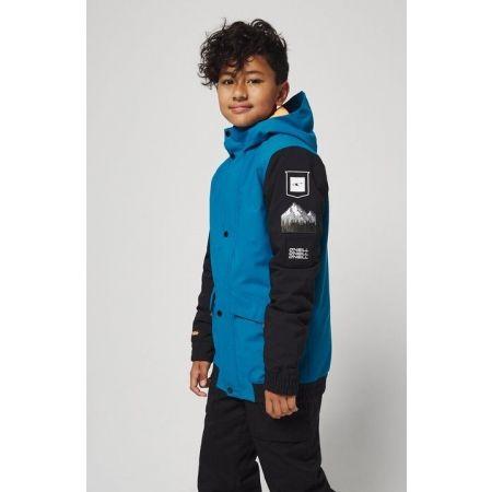 Chlapčenská lyžiarska/snowboardová bunda - O'Neill PB DECODE-BOMBER JACKET - 4