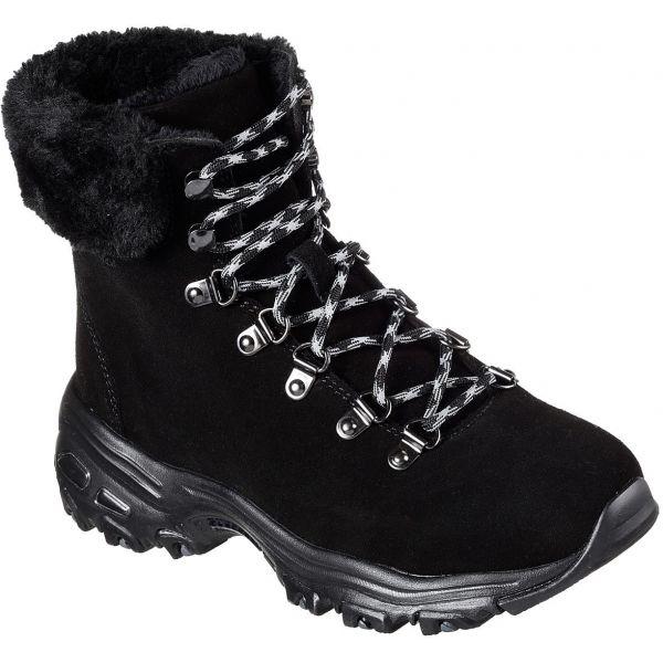 Skechers D'LITES ALPS čierna 39 - Dámska zimná obuv