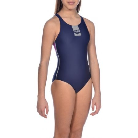 Dívčí jednodílné plavky - Arena G BASICS JR SWIM PRO BACK ONE PIECE - 6