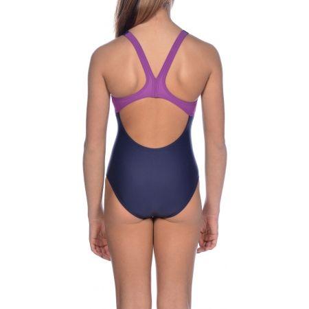 Dívčí jednodílné plavky - Arena G BASICS JR SWIM PRO BACK ONE PIECE - 10