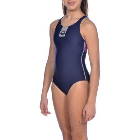 Dívčí jednodílné plavky - Arena G BASICS JR SWIM PRO BACK ONE PIECE - 7