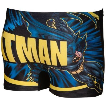 Chlapecké nohavičkové plavky - Arena BATMAN PLACED PRINT JR SHORT - 4
