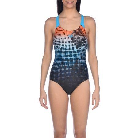 Dámské jednodílné plavky - Arena W DAYTRIP NEW SWIM PRO BACK ONE PIECE - 5