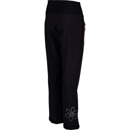 Dívčí softshellové kalhoty - Lewro ALINA - 3