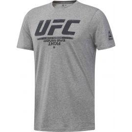 Reebok UFC FG LOGO TEE - Pánské tričko