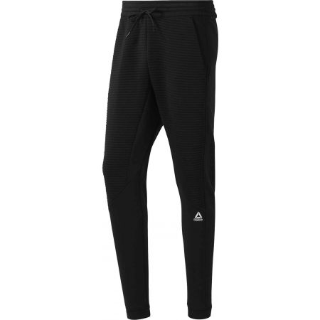 Мъжко долнище - Reebok WORKOUT READY FLEECE PANT - 1