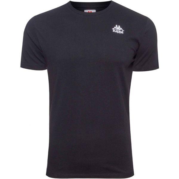 Kappa AUTHENTIC ESSOR SLIM černá 2XL - Pánské tričko