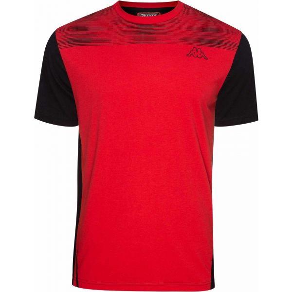 Kappa LOGO AGUS piros XL - Férfi póló