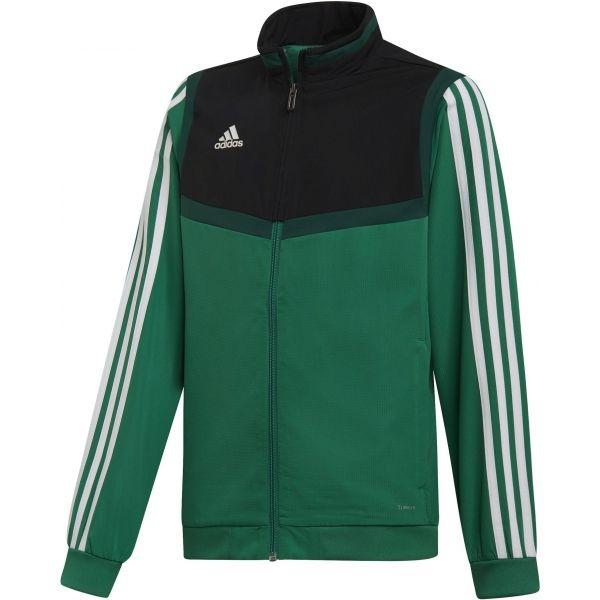 adidas TIRO19 PRE JKTY verde închis 152 - Hanorac juniori