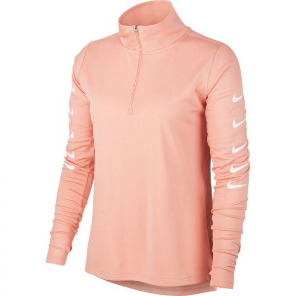 E-shop Nike SWOOSH RUN TOP HZ růžová - Dámské běžecké tričko
