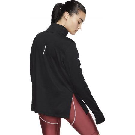 Дамска тениска за бягане - Nike SWOOSH RUN TOP HZ - 2