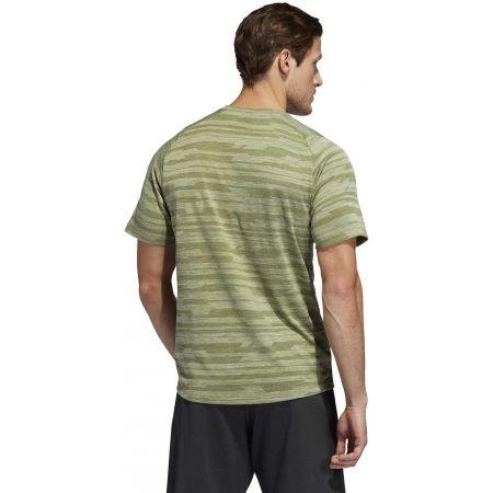 Pánské sportovní tričko - adidas FL TEC A EN HEA - 7