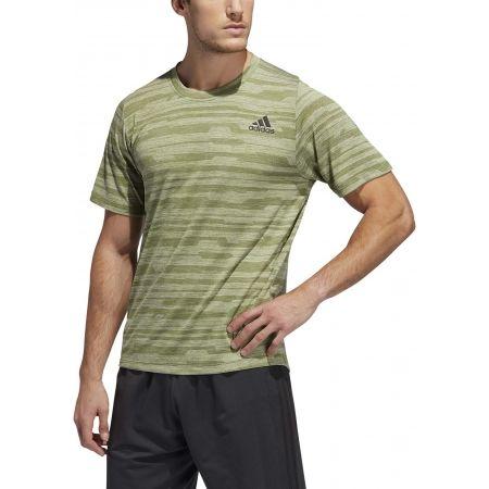 Pánské sportovní tričko - adidas FL TEC A EN HEA - 3