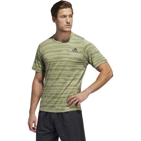 Pánské sportovní tričko - adidas FL TEC A EN HEA - 4