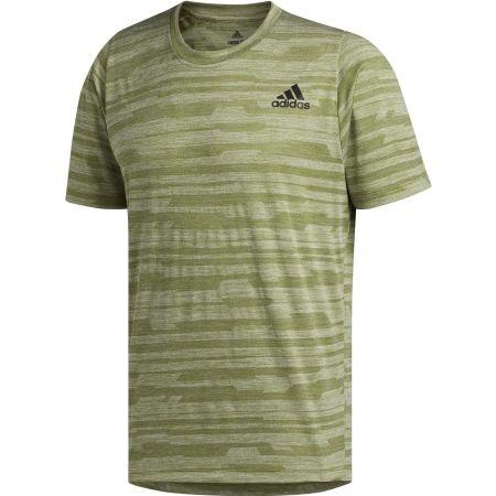 Pánské sportovní tričko - adidas FL TEC A EN HEA - 1