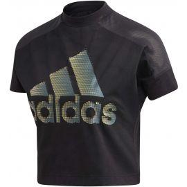 adidas W ID GLAM TEE - Dámské tričko