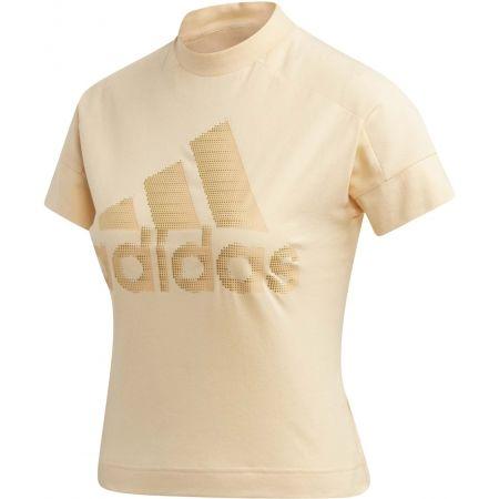 Dámské tričko - adidas W ID GLAM TEE - 1
