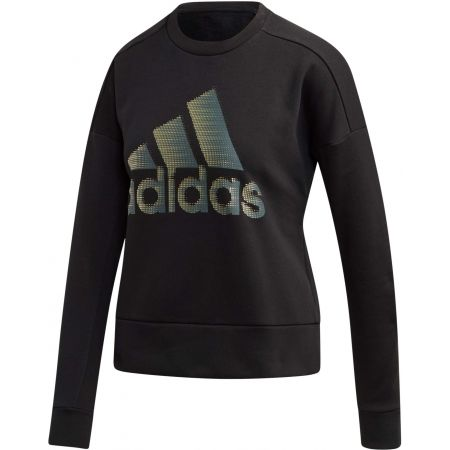 adidas W ID GLAM SWEAT - Women's outdoor sweatshirt