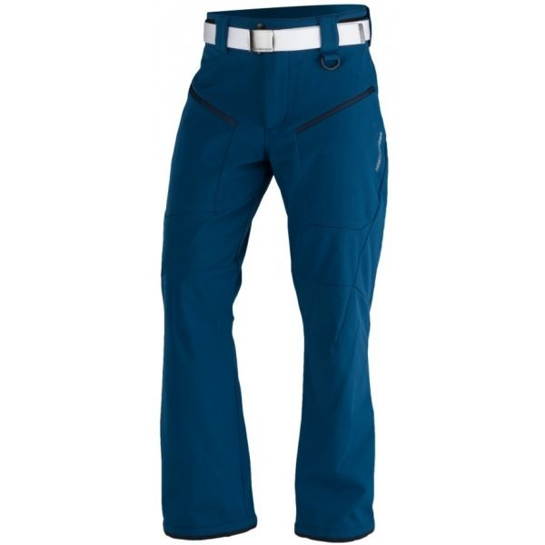 Northfinder MACCOY modrá S - Pánské lyžařské kalhoty
