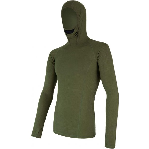 Sensor MERINO DF zöld L - Férfi funkcionális póló