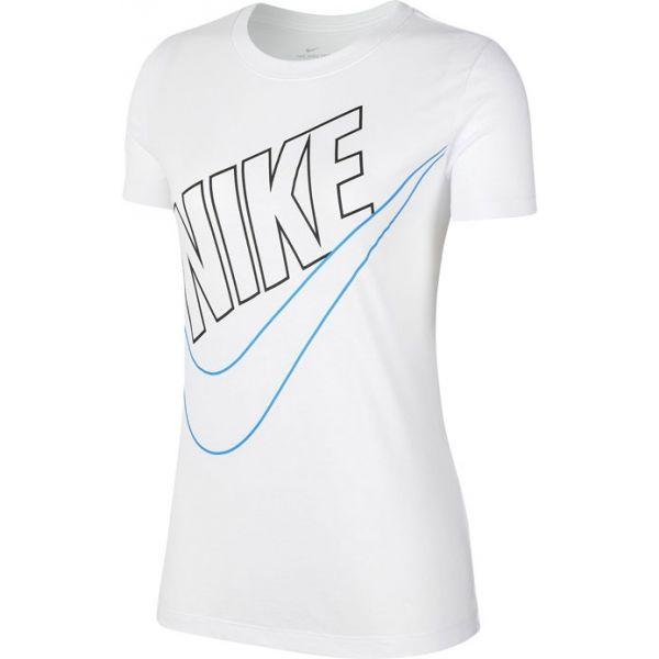 Nike NSW TEE PREP FUTURA W fehér XS - Női póló