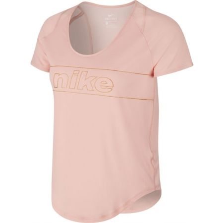 Dámske bežecké tričko - Nike TOP SS 10K GLAM W - 1