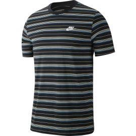 Nike NSW TEE STRIPE SS - Pánské tričko