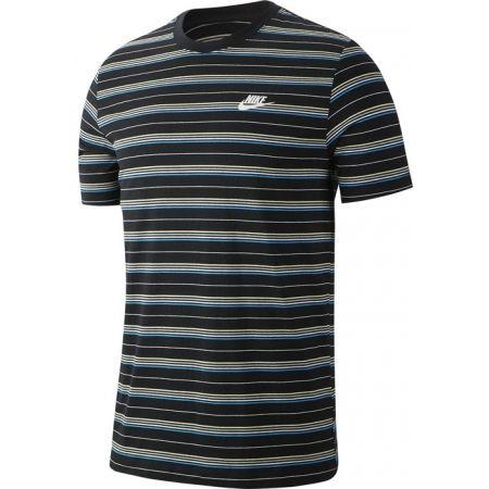 Pánské tričko - Nike NSW TEE STRIPE SS - 1