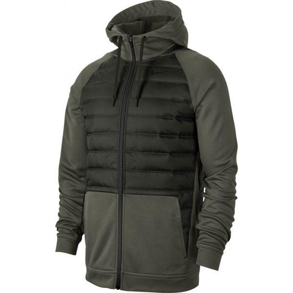 Nike THRMA FZ WNTRZD M zöld S - Férfi pulóver