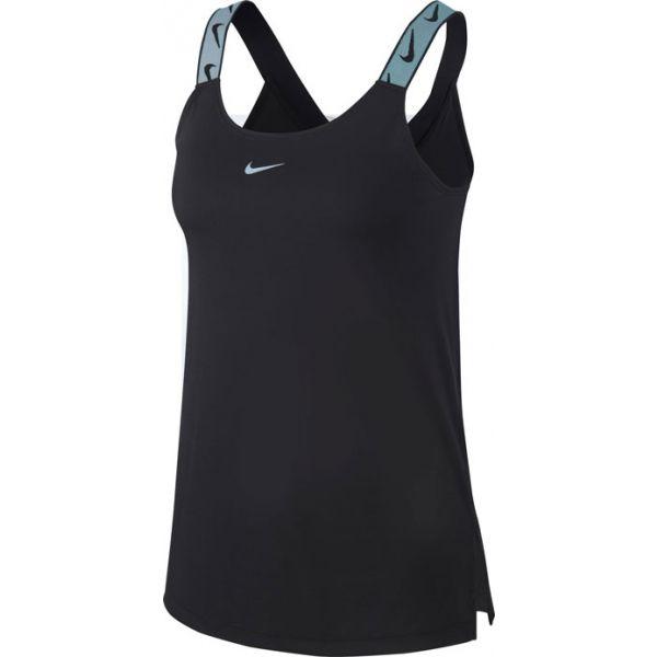 Nike DRY TANK ELDTIKA VNR HO19 W čierna S - Dámske športové tielko
