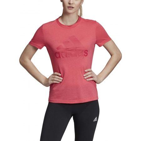 Dámské tričko - adidas W MH BOS TEE - 3