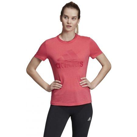 Dámské tričko - adidas W MH BOS TEE - 4