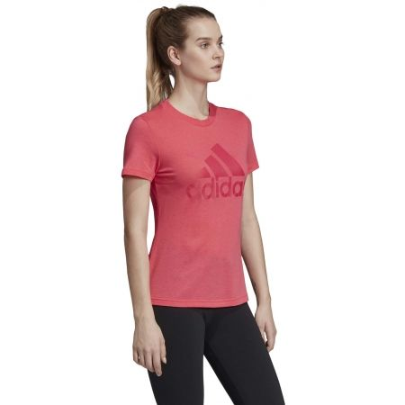 Dámské tričko - adidas W MH BOS TEE - 5