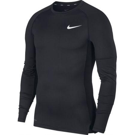 Nike NP TOP LS TIGHT M - Pánské tričko s dlouhým rukávem