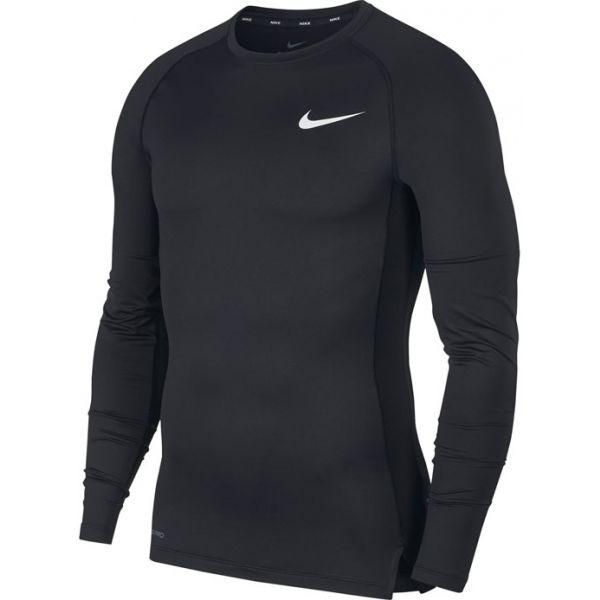Nike NP TOP LS TIGHT M fekete XL - Hosszú ujjú férfi póló