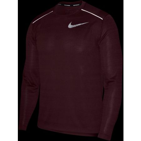 Men's long sleeve T-shirt - Nike DF MILER LS FLASH NV M - 3