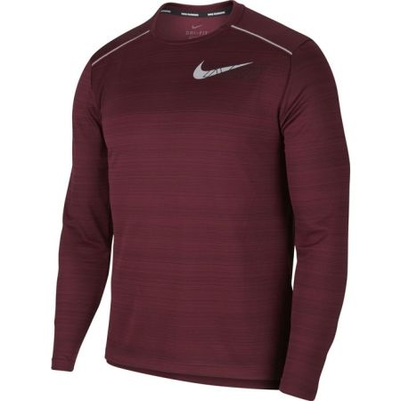 Nike DF MILER LS FLASH NV M - Pánske tričko s dlhým rukávom