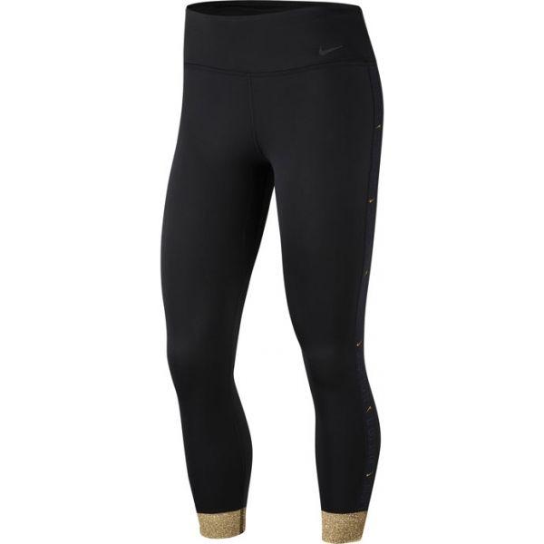 Nike ONE ICON CLSH CUF 7/8 T W čierna S - Dámske legíny