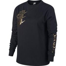 Nike NSW TOP LS SHINE W - Dámske tričko s dlhým rukávom