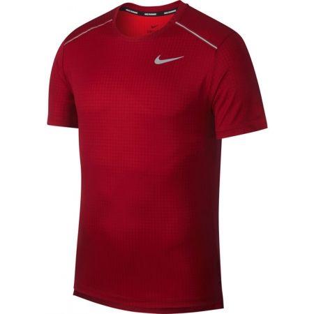 Pánské běžecké tričko - Nike MILER TECH TOP SS M - 1