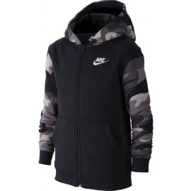 Nike NSW FZ CLUB AOP2 - Jungen Sweatshirt