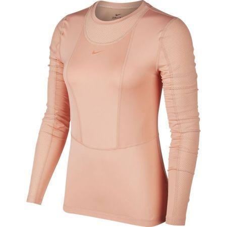 Nike NP PWARM HOLLYWOOD TOP W - Tricou cu mânecă lungă pentru femei